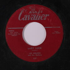 LEE HOLDEN: Lady Luck / Two Evil Eyes 45 Hear! (sl lbl wear) Country