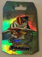 DLR DIAMOND DECADES COLLECTION: SOARIN' DANGLE DISNEY LE 5000 PIN 111253