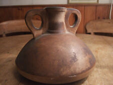 ORIGINAL ANTIQUE AFRICAN TRIBAL EARTHENWARE WATER/DRINK CONTAINER