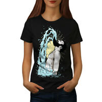 Wellcoda Epic Beard Hippie Womens T-shirt, Shampoo Casual Design Printed Tee