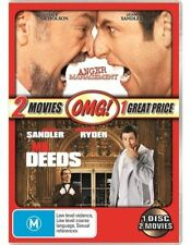 NEW ANGER MANAGEMENT & MR DEEDS - Jack Nicholson, Adam Sandler - 2 MOVIES on DVD