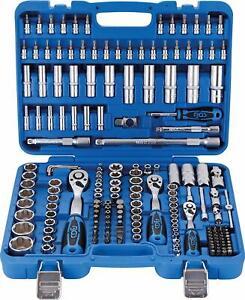 Bgs 2292 Maletín Caja Herramientas 192 piezas con Vasos Super Lock