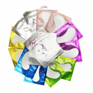 Eye Pads 50-500 Pairs Eye Patches Hydrogel Pads for Eyelash Extension