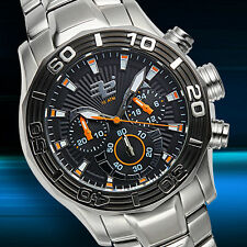 32 Degrees Polar Chronograph Mens Diver Watch / MSRP $1,400.00 ( 2 COLORS )