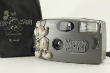 【Rare!! MINT++!!】 Fujifilm Mickey Mouse Disney 35mm Point & Shoot Camera Japan