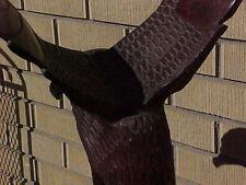 Carved Wood Large Eagle Animal Figurine
