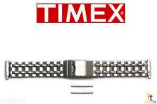 TIMEX Q7B873 16-20 mm Original Stainless Steel Watch BAND Strap w/ 2 Pins