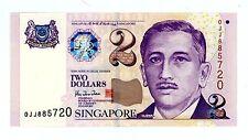 SINGAPORE    P-38        2 DOLLARS       ND(1999).....        *UNC*