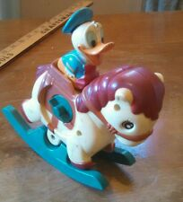 SWEET VINTAGE 50s 60s ILLCO DISNEY DONALD DUCK WIND UP TOY! STILL'WINDS'N'WORKS!