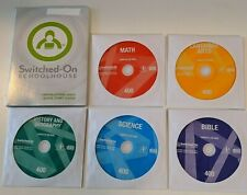 Switched on Schoolhouse 4th grade COMPLETE Set! Windows 10, 8, & 7!