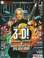 GUITAR WORLD November 2010 3-D Led Zeppelin Pink Floyd Hey You Santana TAB