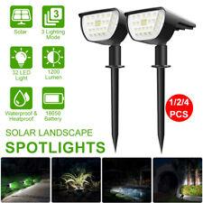 LED Landscape Light Solar Powered Outdoor Garden Path Lawn Yard Lamp Waterproof