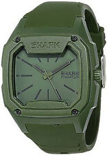 NEW Freestyle Killer Shark Mens Olive Green Analog Watch Silicone Strap 101075
