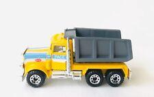 Vintage Matchbox Truck Peterbilt Dump Truck Pace Construction 1:80 Scale 1981
