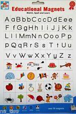 Alfabeto Imanes para refrigerador 80pc Aprender Letras De Juego Juguete Niños 3+ Vivero hechizo Match