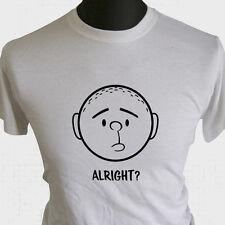 Karl Pilkington in Ordnung T-Shirt Ricky Gervais Idiot im Ausland Witz Lustig