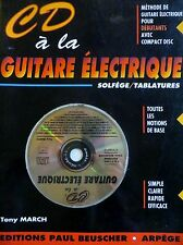 CD à la guitare électrique, Tony March, 1995 (1109)