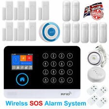 GSM Burglar Alarm System Wireless DIY SMS Home Office House Security Autodial