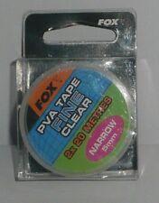 Fox: pva tape fine clear 5mm 2x20m