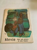 1971 Stevie by John Steptoe Scholastic 1st Printing Softcover