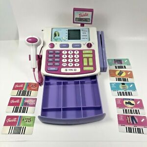 VTG 2001 Mattel Shop With Me Barbie Talking Electronic Cash Register Tested READ