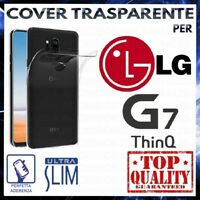 COVER per LG G7 ThinQ Custodia Trasparente Morbida in Silicone Ultra Slim TPU