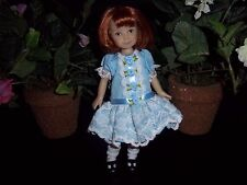 Dianna Effner Heartstrings Dolls Blue Party Dress
