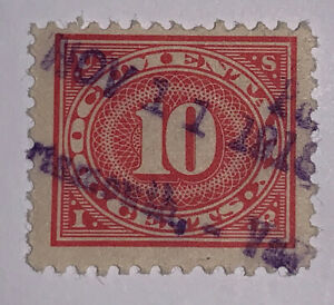 Travelstamps: US Stamps Scott #R234 10c Documentary Used Handstamped