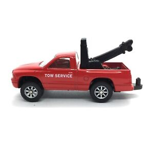 Maisto Dodge Dakota Tow Service Truck Wrecker Die Cast 1/64 Working Suspension
