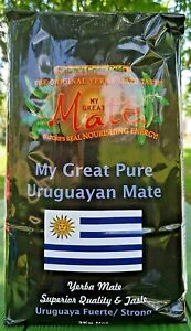 1kg My Great Uruguayan PURE ( STRONG- SMOOTH) Yerba Mate