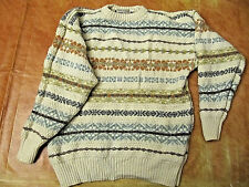52ca32c9c200 pull tricot vêtement femme taille L pure laine vierge Harris Wilson col rond