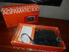 AGFAMATIC 100 Sensor ancien Appareil photo argentique vintage 70's + boite #MH