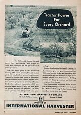 1946 AD.(XF19)~INTERNATIONAL HARVESTER CO. MCCORMICK-DEERING ORCHARD TRACTOR