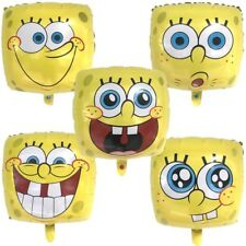5 Pack Of Sponge Bob Square Pants Balloons Birthday Party Decoration Cartoon