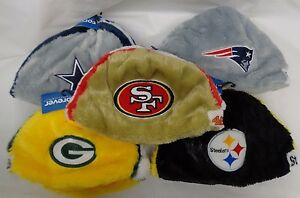 Forever Collectibles NFL Cozy Helmet Beanie Hat