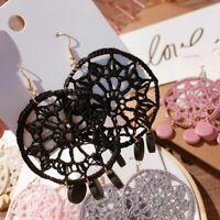 Dream Tassel Drop Gift Jewelry Bohemian Circle Catcher Womens Dangle Earrings