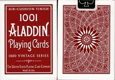 1001 Aladdin Dome Back Red Playing Cards Poker Size Deck USPCC Air-Cushion New