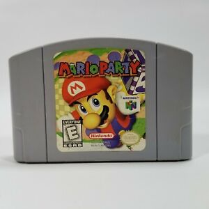 Mario Party - Nintendo 64 N64 Authentic and TESTED