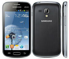 Unlocked Dual SIM Original Samsung Galaxy S Duos GT-S7562 4GB Smartphone Black