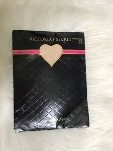 Victoria's Secret Sensual Shapers Pantyhose Small Sheer to Waist Naked Neutral S