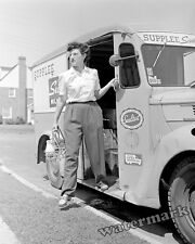 Photograph of Supplee Sealtest Milk Delivery Truck Pennsylvania Year 1943  8x10