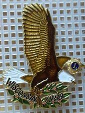 1988 Wisconsin Lions Club Pin