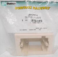 GraybaR Panduit JBP1DIW 1-Gang Deep Outlet Box Off White