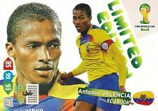 2014 Panini Adrenalyn World Cup EXCLUSIVE Antonio Valencia Limited Edition MINT