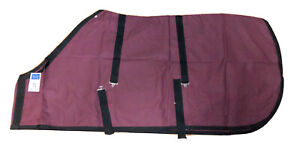 New! Bedford Tack Horse Blanket Size 74 Leg Straps in Canvas