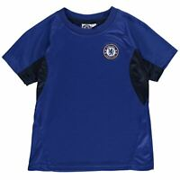 Source Lab Kids Boys Chelsea Poly T Shirt Junior Licensed Crew Neck Tee Top