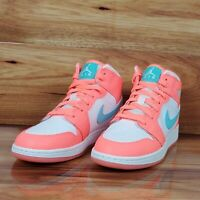 AIR JORDAN 1 MID GG 'CRIMSON PULSE' YOUTH SIZE 7Y  [555112 814]