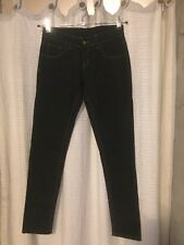 Monkee Genes Black Denim Supa Skinny Jeans Size 28