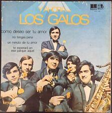 Los Galos Y Ahora Los Galos Rare Colombia Pressing Lp Lucho Chile