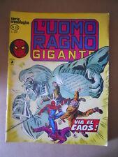 L'UOMO RAGNO GIGANTE Cronologica n°29 1978   Edizione Corno [G753B] BUONO